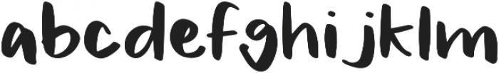 Jackson otf (400) Font LOWERCASE