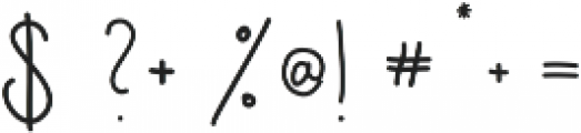 Jackson ttf (400) Font OTHER CHARS