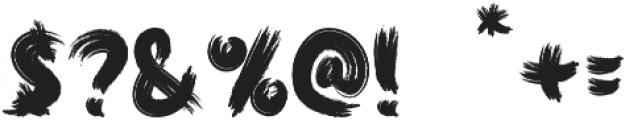 Jacsony otf (400) Font OTHER CHARS