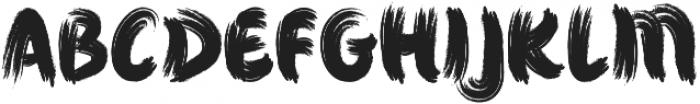 Jacsony otf (400) Font UPPERCASE