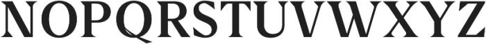 Jadeline Serif ttf (400) Font UPPERCASE