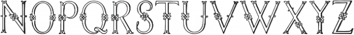Jaggard Regular ttf (400) Font UPPERCASE