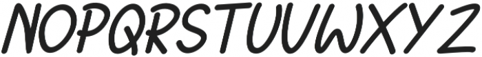 Jakaro Italic otf (400) Font UPPERCASE