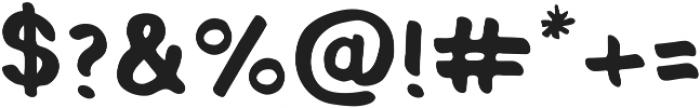 Jalapeno Jelly Regular ttf (400) Font OTHER CHARS