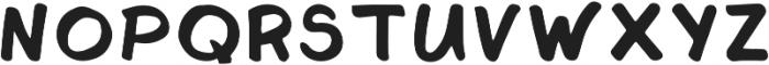 Jalapeno Jelly Regular ttf (400) Font LOWERCASE