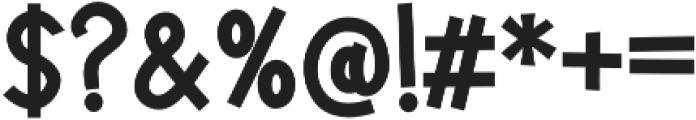 Jalo otf (400) Font OTHER CHARS