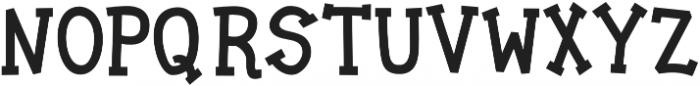 Jalo otf (400) Font UPPERCASE