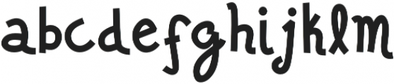Jalo otf (400) Font LOWERCASE