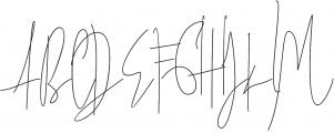 James Douthson otf (400) Font UPPERCASE
