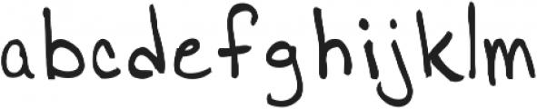 Jamies Hand ttf (400) Font LOWERCASE