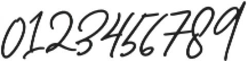 Jamsuit otf (400) Font OTHER CHARS