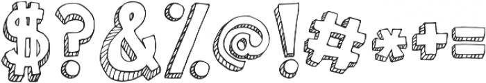 Janda Apple Cobbler Solid ttf (400) Font OTHER CHARS