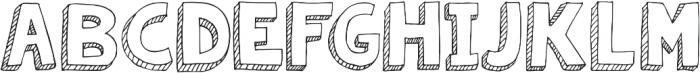 Janda Apple Cobbler Solid ttf (400) Font UPPERCASE