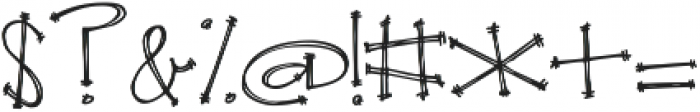 Janda Apple Cobbler ttf (400) Font OTHER CHARS