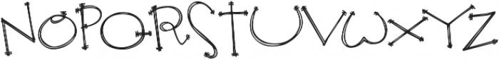 Janda Apple Cobbler ttf (400) Font UPPERCASE