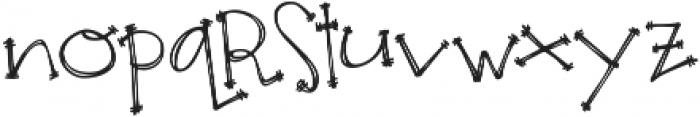 Janda Apple Cobbler ttf (400) Font LOWERCASE