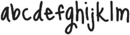 Janda Celebration Script ttf (400) Font LOWERCASE