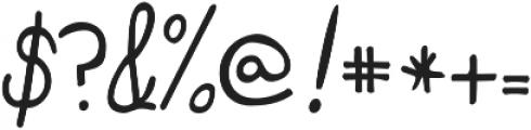 Janda Curlygirl Pop ttf (400) Font OTHER CHARS