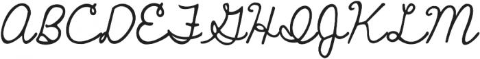 Janda Curlygirl Pop ttf (400) Font UPPERCASE