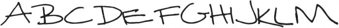 Janda Curlygirl Serif ttf (400) Font UPPERCASE