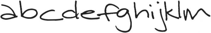 Janda Curlygirl Serif ttf (400) Font LOWERCASE
