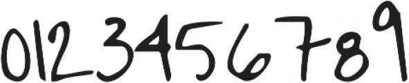 Janda Hide And Seek ttf (400) Font OTHER CHARS