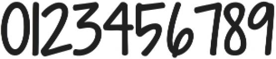 Janda Manatee Solid ttf (400) Font OTHER CHARS