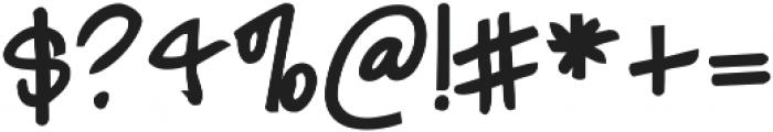 Janda Polkadot Punch ttf (400) Font OTHER CHARS