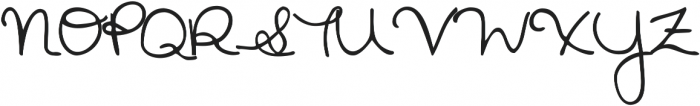 Janda Safe and Sound Solid ttf (400) Font UPPERCASE