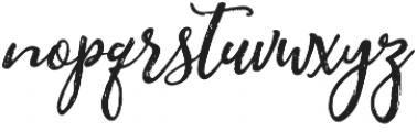 Jane Austin Regular otf (400) Font LOWERCASE