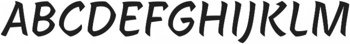 Janko FY otf (400) Font UPPERCASE