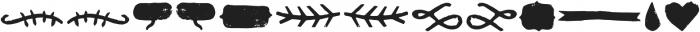 Janmeid Tales otf (400) Font LOWERCASE