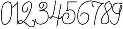Jannet Script otf (400) Font OTHER CHARS