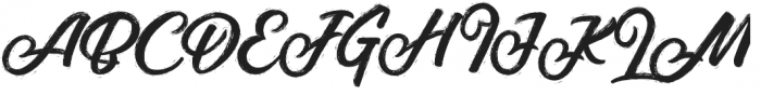 Jansky Rough otf (400) Font UPPERCASE