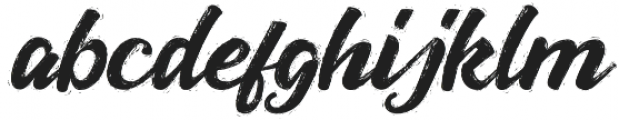 Jansky Rough otf (400) Font LOWERCASE