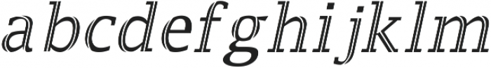 Jaqeen otf (400) Font LOWERCASE