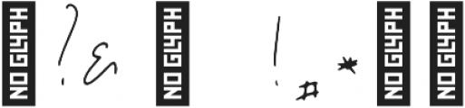Jar Binks otf (400) Font OTHER CHARS