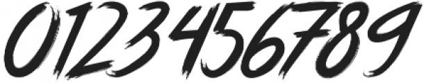Jarvish Blurry otf (400) Font OTHER CHARS