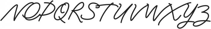 Jasmine Smooth Regular otf (400) Font UPPERCASE