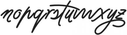 Jasmine Smooth Regular otf (400) Font LOWERCASE
