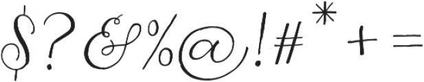 Jasminum otf (400) Font OTHER CHARS