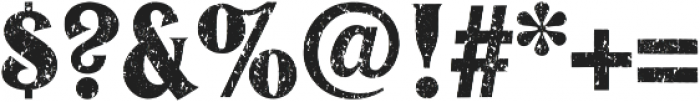 JasonCaps Distressed otf (400) Font OTHER CHARS