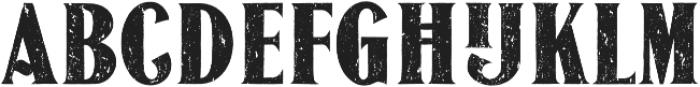 JasonCaps Distressed otf (400) Font LOWERCASE