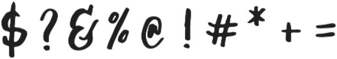 Jasper Regular otf (400) Font OTHER CHARS