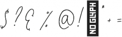Jasper otf (400) Font OTHER CHARS