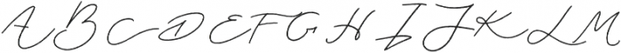 Jasper otf (400) Font UPPERCASE