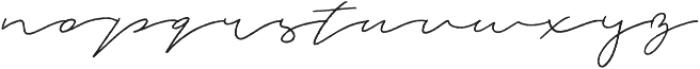Jasper otf (400) Font LOWERCASE