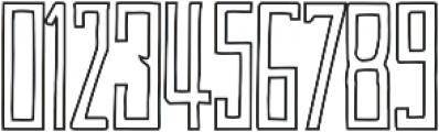 Jassmine Outline otf (400) Font OTHER CHARS