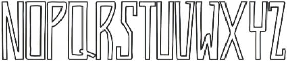 Jassmine Outline otf (400) Font UPPERCASE
