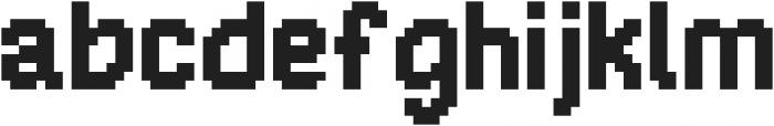 Jaunt ttf (400) Font LOWERCASE